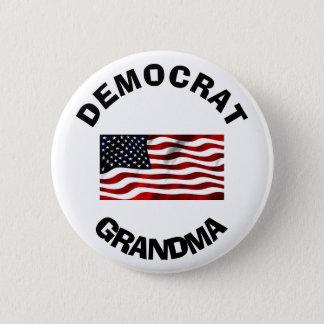 Demokrat-Großmutter-Knopf mit amerikanischer Runder Button 5,7 Cm