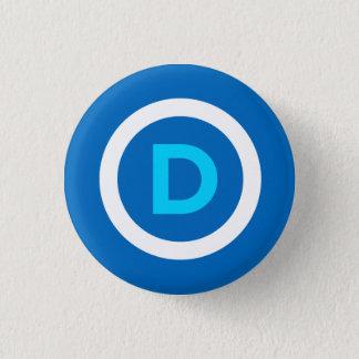 Demokrat-Knopf Runder Button 3,2 Cm