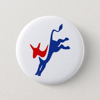 Demokrat Runder Button 5,1 Cm