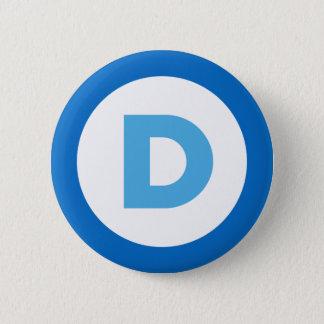 Demokraten 2016 runder button 5,7 cm
