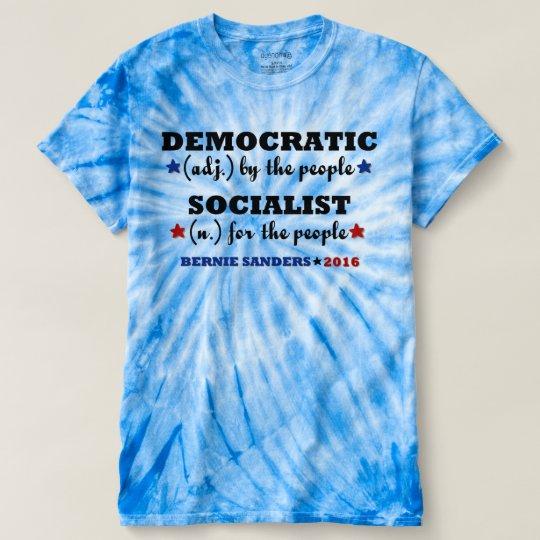 Demokratische sozialistische t-shirt