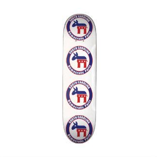 Demokratisches Party South Carolina Bedrucktes Skateboard