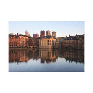 Den Haag Skyline in den Niederlanden Leinwanddruck