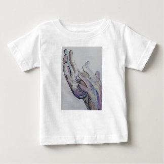 Denim-Farbton ASL Jesus Baby T-shirt