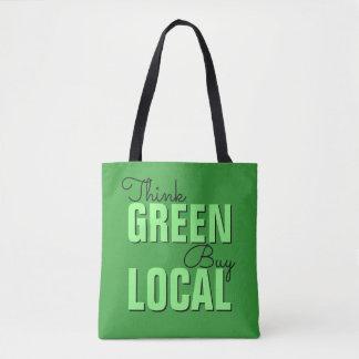 Denke ökologisch, Kauf-Einheimischtaschen Tasche
