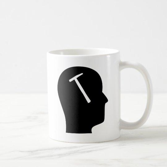 Denken an Dächer Kaffeetasse