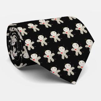 Denken an ihn Voodoo-Puppen-Cartoon Personalisierte Krawatte