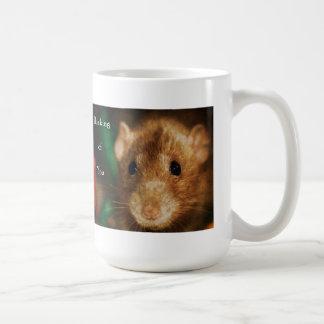 Denken an Sie extravagante Dumbo Ratte Kaffeetasse