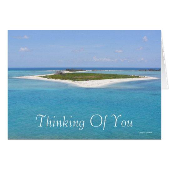Denken an Sie (freier Raum) Karte