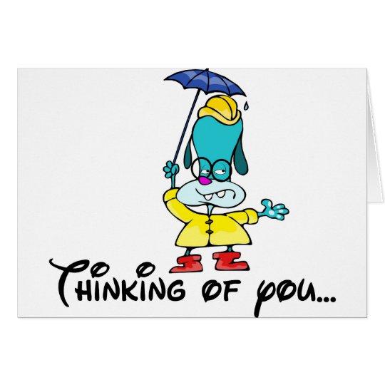 Denken an Sie… Grußkarte