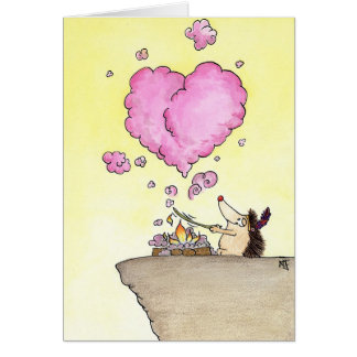 DENKEN AN SIE Grußkarte durch Nicole Janes