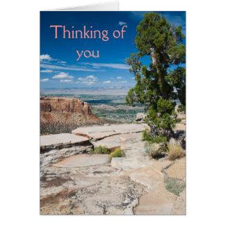 Denken an Sie Karte