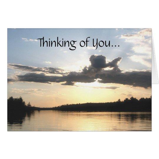 Denken an Sie… Karte