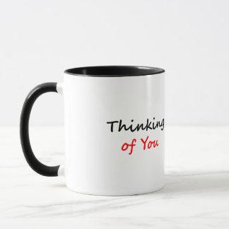Denken an Sie Tasse