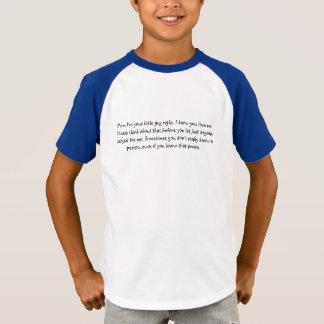 Denken Sie an seine/Sicherheit T-Shirt