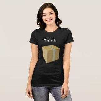 Denken Sie außerhalb des Kasten-T - Shirt