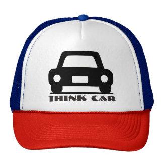 Denken Sie Auto-flippigen Hut/Kappe Trucker Kappe