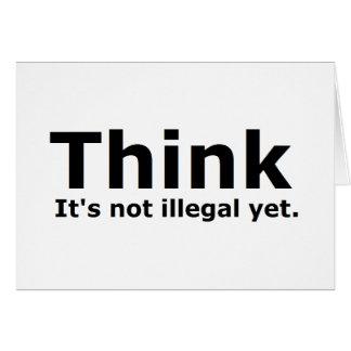 Denken Sie, dass es nicht illegaler noch politisch Karten