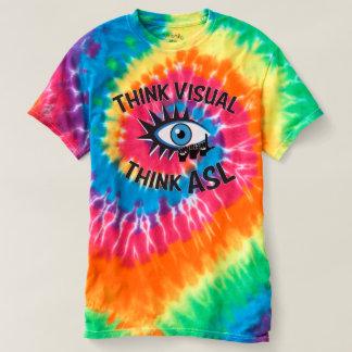 Denken Sie, dass visuell ASL-NIC-Unterzeichner T-shirt