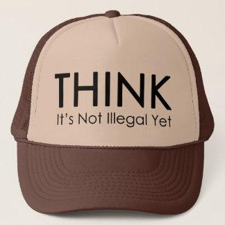 Denken Sie, es ist nicht illegaler schon Truckerkappe