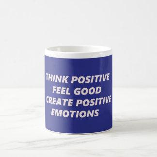 Denken Sie Positiv Kaffeetasse