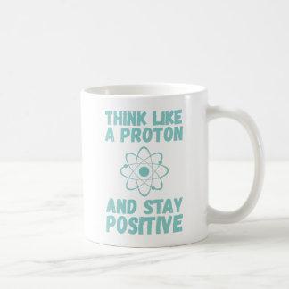 Denken Sie wie Proton Kaffeetasse