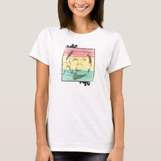 Denkende Dame von Ghana T-Shirt
