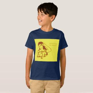Dennoch bestand sie fort (Gelb) (Kinder) T-Shirt