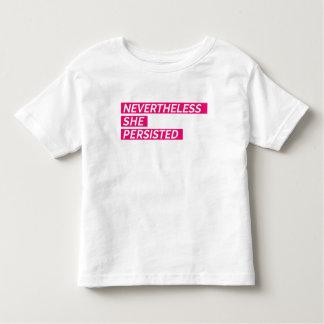 Dennoch bestand sie fort kleinkind t-shirt