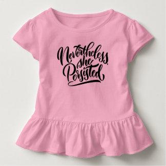 Dennoch bestand sie Kleinkind-Shirt fort Kleinkind T-shirt