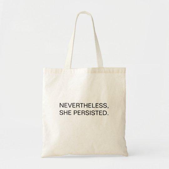 Dennoch… Tasche