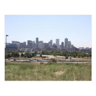 Denver im Stadtzentrum gelegen Postkarte