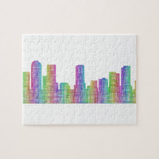 Denver-Stadt-Skyline
