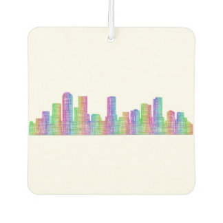 Denver-Stadt-Skyline Autolufterfrischer