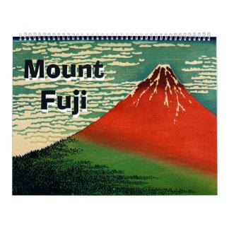 Der 12-monatige Fujisan Abreißkalender