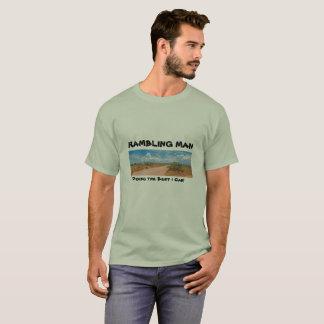 Der abschweifende Mann, das Beste tuend kann ich! T-Shirt