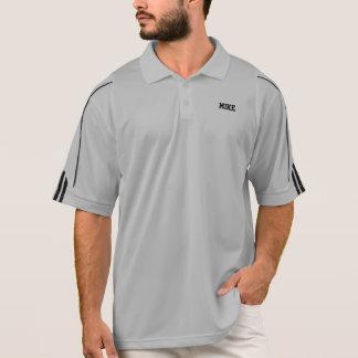 Der Adidas-Golf ClimaLite© Personal-Polo-Shirt der Polo Shirt