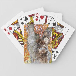 Der alte Baum Spielkarten