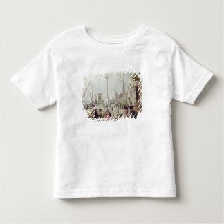 Der alte Hafen von Antwerpen Kleinkinder T-shirt