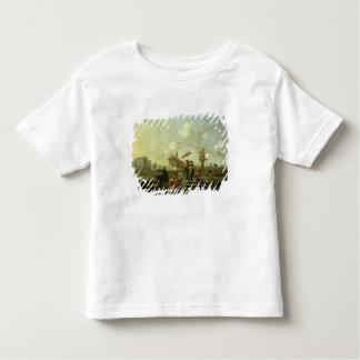 Der alte Hafen von Genua Kleinkinder T-shirt