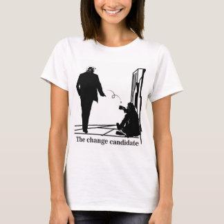Der Änderungs-Kandidat T-Shirt
