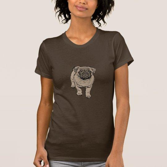 Der angepasste T - Shirt der niedlichen