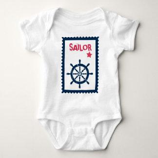 Der Anker des Schiffs - Seeschiffs-Anker Baby Strampler