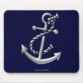 Der Anker-Marine-Themenorientiertes nautischgesche Mousepad
