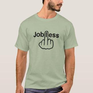 Der arbeitslose T - Shirt drehen um