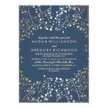 Der Atem-Hochzeit des 12,7 X 17,8 Cm Einladungskarte