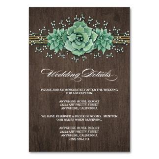 Der Atem-Hochzeits-Einschließungs-Karten des