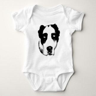 Der aufpassende Hund Baby Strampler
