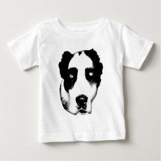 Der aufpassende Hund Baby T-shirt