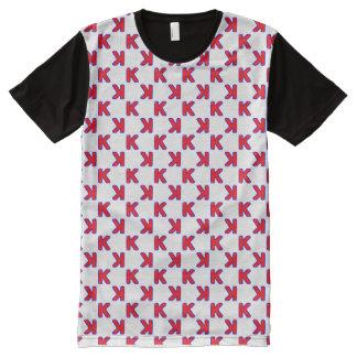 Der Baseball-Ausstreichen der Männer T-Shirt Mit Komplett Bedruckbarer Vorderseite